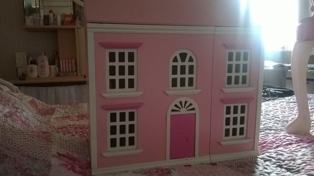 Pink Wooden Dolls House In Dudley West Midlands Gumtree