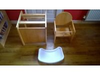 mothercare high chair £20