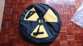 "Nukeproof Logo single wheel bag for 26"" wheel - ex-display, Mint"