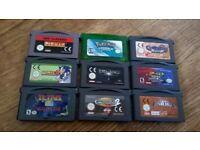 gameboy bundle pokemon emerald, pinball sonic advance lord of the rings tetris pac man tomb raider