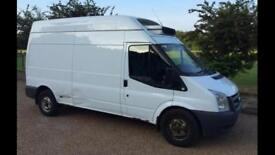 2011 60 Ford Transit. Lwb 115 t350 fridge van motd fsh one owner