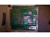 GLASS MOSAIC TILED SHEETS x 10
