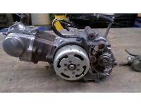 Honda CF70 C 3 speed fully automatic engine. Monkeybike C90 CUB