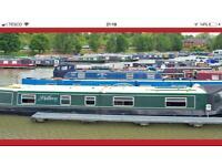 Narrowboat WANTED