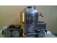 custom logburner american truck design gas bottle,trucker