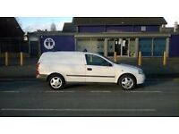 Vauxhall Astra Van: Fitted with Boxed out rear interior: 2 brand new keys with immobiliser + C/L