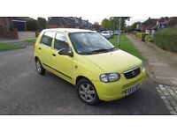 Suzuki Alto. Automatic. Low milage example in great condition