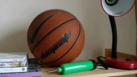 Basketball ball. Comes with pump.