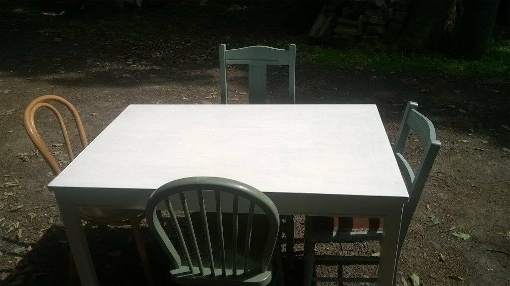 Odd Chairs dining table & odd chairs | in hemsworth, west yorkshire | gumtree