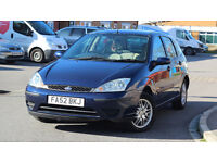 Ford Focus 1.6 2003 12 Months M.O.T
