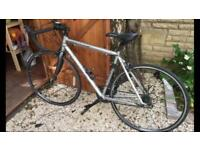 Silver Carrera men's road bike