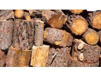 Softwood firewood delivered