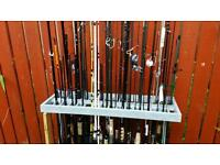 Various fishing rods for sale