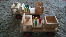 Fagus Wooden Trucks