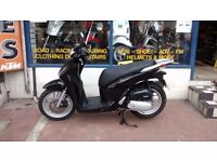 Honda SH 125i Scooter Yr 2016 with New MOT & 3 months warranty
