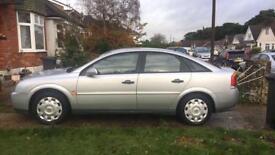 2002 Vauxhall Vectra 1.8 - MOT til Sep 18