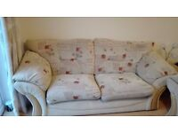 Sofa and armchair- donation for charity as payment