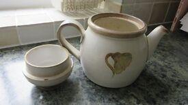 Denby Troubador Large Teapot