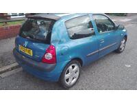 Clio spares or repairs