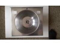 Stainless steel used sink 305 X 270mm for Caravan or Boat