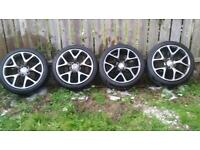 19'' alloys to suit vauxhall insignia