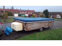 Casita Folding Caravan, ready to use, but could do with lots TLC,