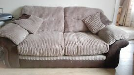 DFS Fabric Sofa and Sofa bed Like New