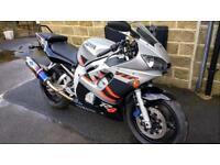 Yamaha R6 super bike mint condition data tagged not r1 cbr