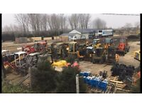WE BUY MACHINERY !!! Diggers,Dumpers,Telehandlers,Bobcat,Forklifts...etc