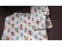 Cot Quilt Cover and Pillowcase - Newport