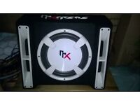 "Subwoofer built in amp 12"" 1500w max"