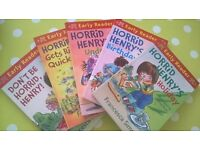 Horrid Henry Early Readers set x 5