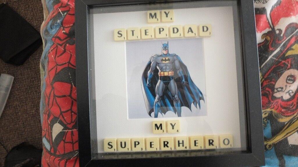 Batman Step Dad Frame | in Newport | Gumtree