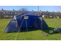 halfords 4 man tent