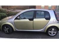 SMART FORFOUR 1.3 PASSION 5DR--FULL SERVICE HISTORY £1,500 ONO or PART X