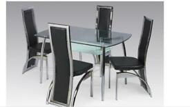 Brand new table with 4 chairs Miami dining set Same day delivery