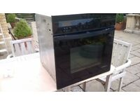 Electric Oven De Dietrich black intergrated pyrolytic multifunction