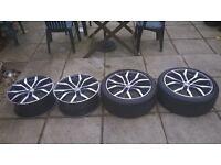 18'' Volkswagen golf alloys for sale £100