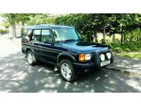 2001 LAND ROVER DISCOVERY SERIES II 4.0 V8i ES AUTO BLUE *BRC LPG* 7 SEATER FULL MOT FSH NICE 4X4