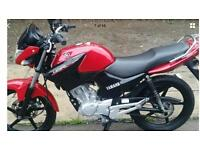 Yamaha ybr125, 1 year old, low miles, immaculate condition
