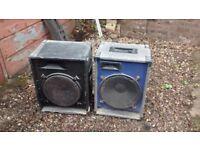 2 pa speakers