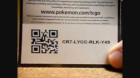LOOKING FOR POKEMON CODES FOR MY KIDS