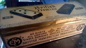 Vintage British Dominoes EM company Ltd