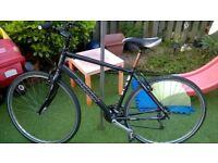 "Marin hybrid mens bicycle 19"""