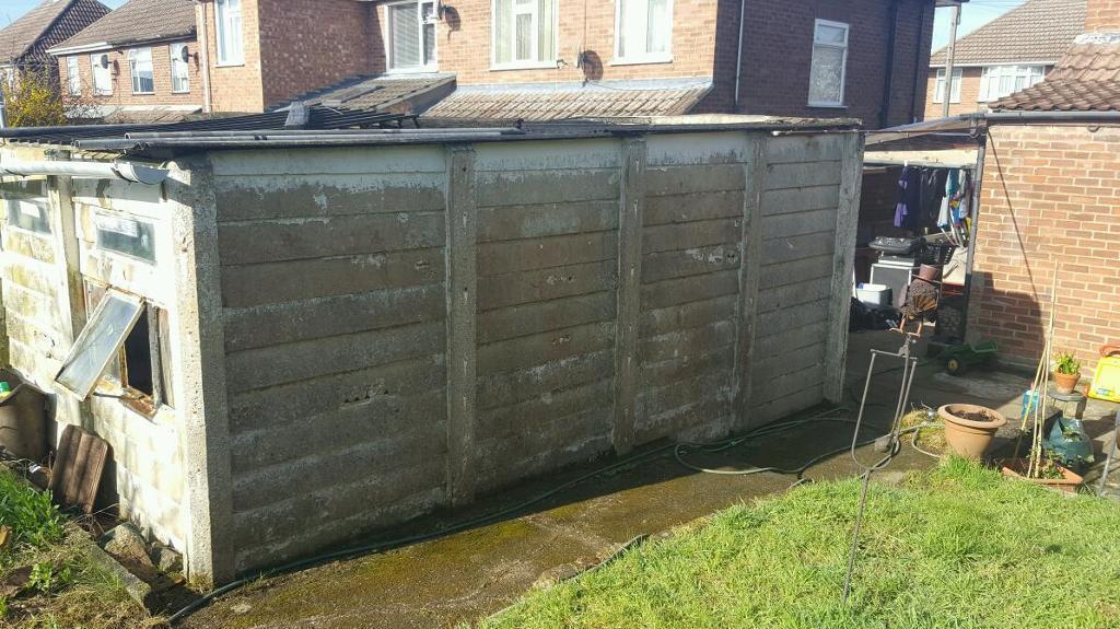 Prefab concrete panel garage | in Ipswich, Suffolk | Gumtree