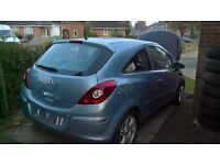 Breaking 2007 Corsa D 1.2 life most parts available