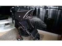 Maclaren Techno XT Stroller Buggy Pushchair umbrella fold extended sunshade