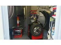 Eurotek t1000 pro tyre changer machine , only 3 months old receipts available