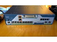 CISCO C1861-2B-VSEC/K9 V02 Integrated Services Router Adv IP + PSU Adapter CCNA CCENT