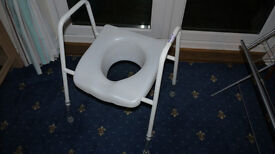 W.C Toilet frame and seat